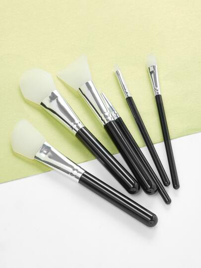 Silicone Mask Brushes Set 6pcs