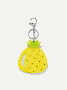 Pineapple Shaped Keychain