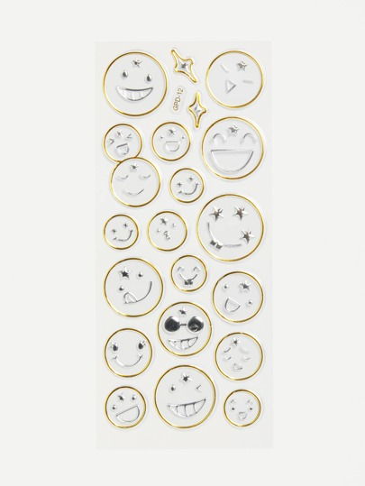Circle Smile Wall Stickers