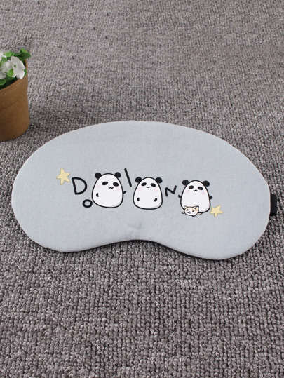 Lovely Panda Print Eye Mask