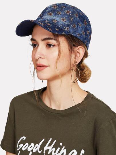 Star Pattern Baseball Cap