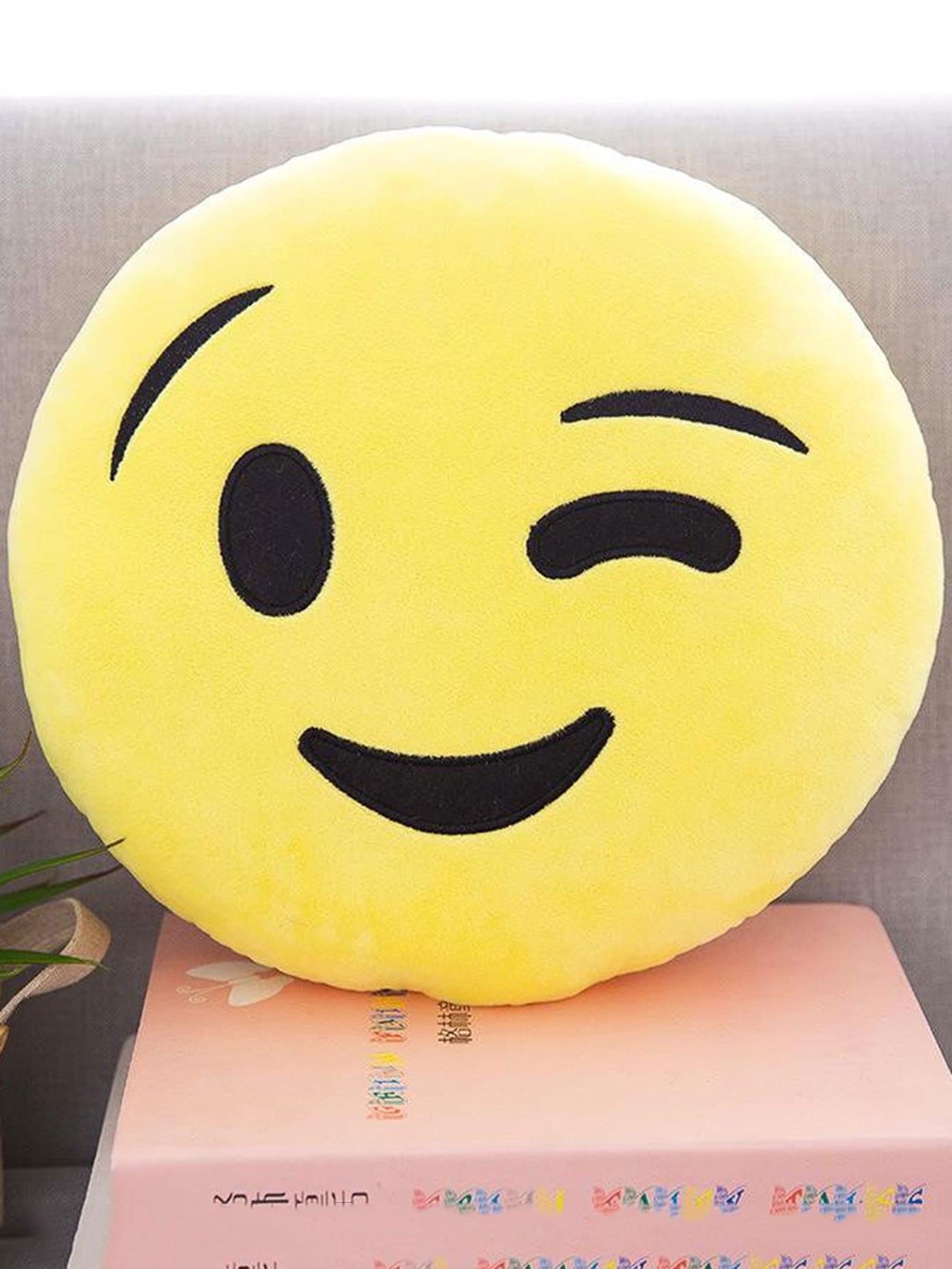 Emoji Facial Expression Pillow