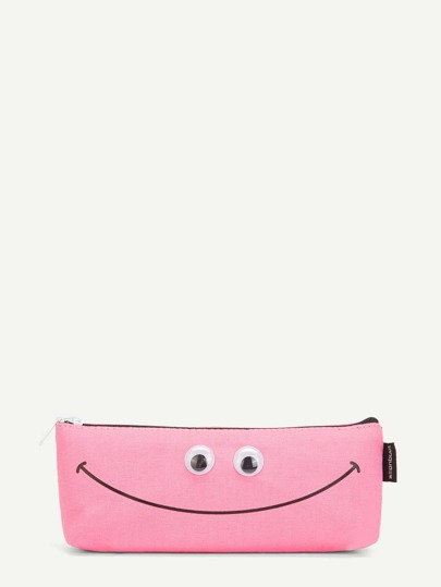 Cartoon Print Pencil Case