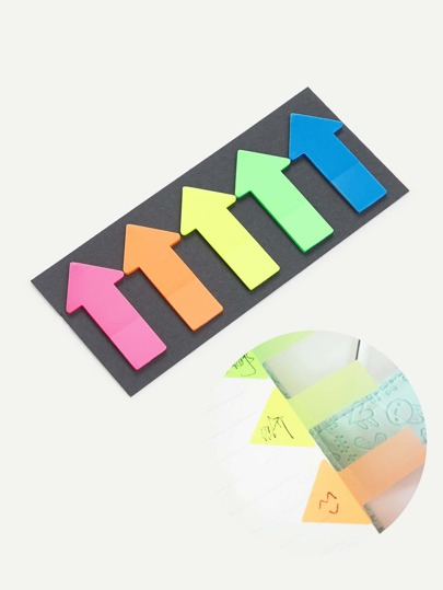 Arrow Shaped Sticky Note Set