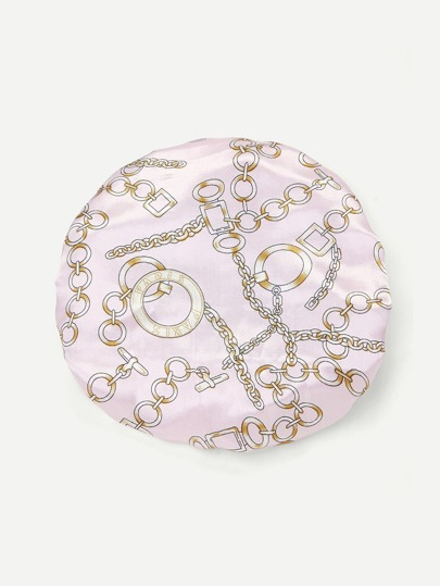 Satin Double Layered Shower Cap