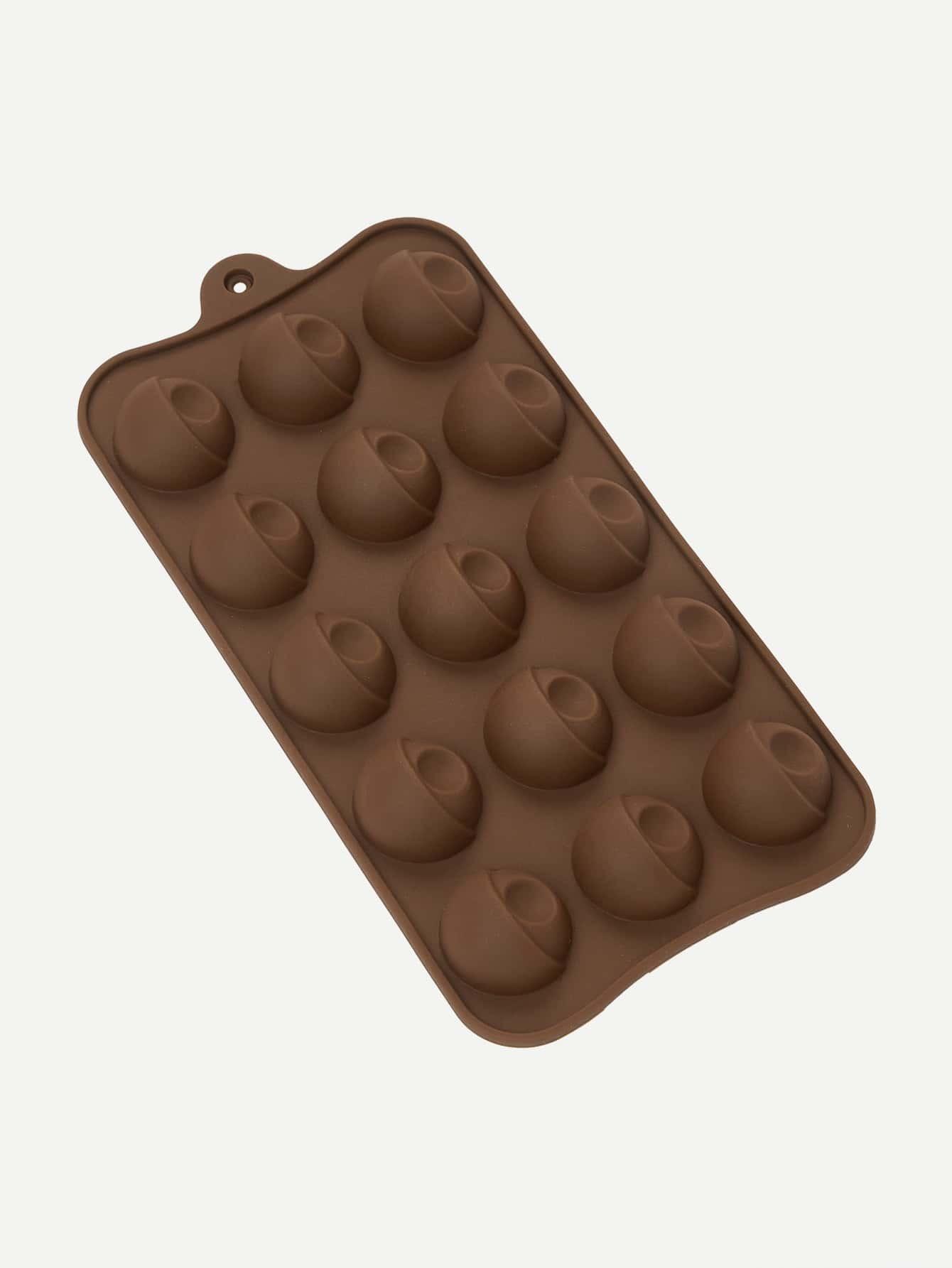 Форма для выпечки шоколада в форме головы, null, SheIn  - купить со скидкой