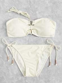 Tie Side Bikini Set