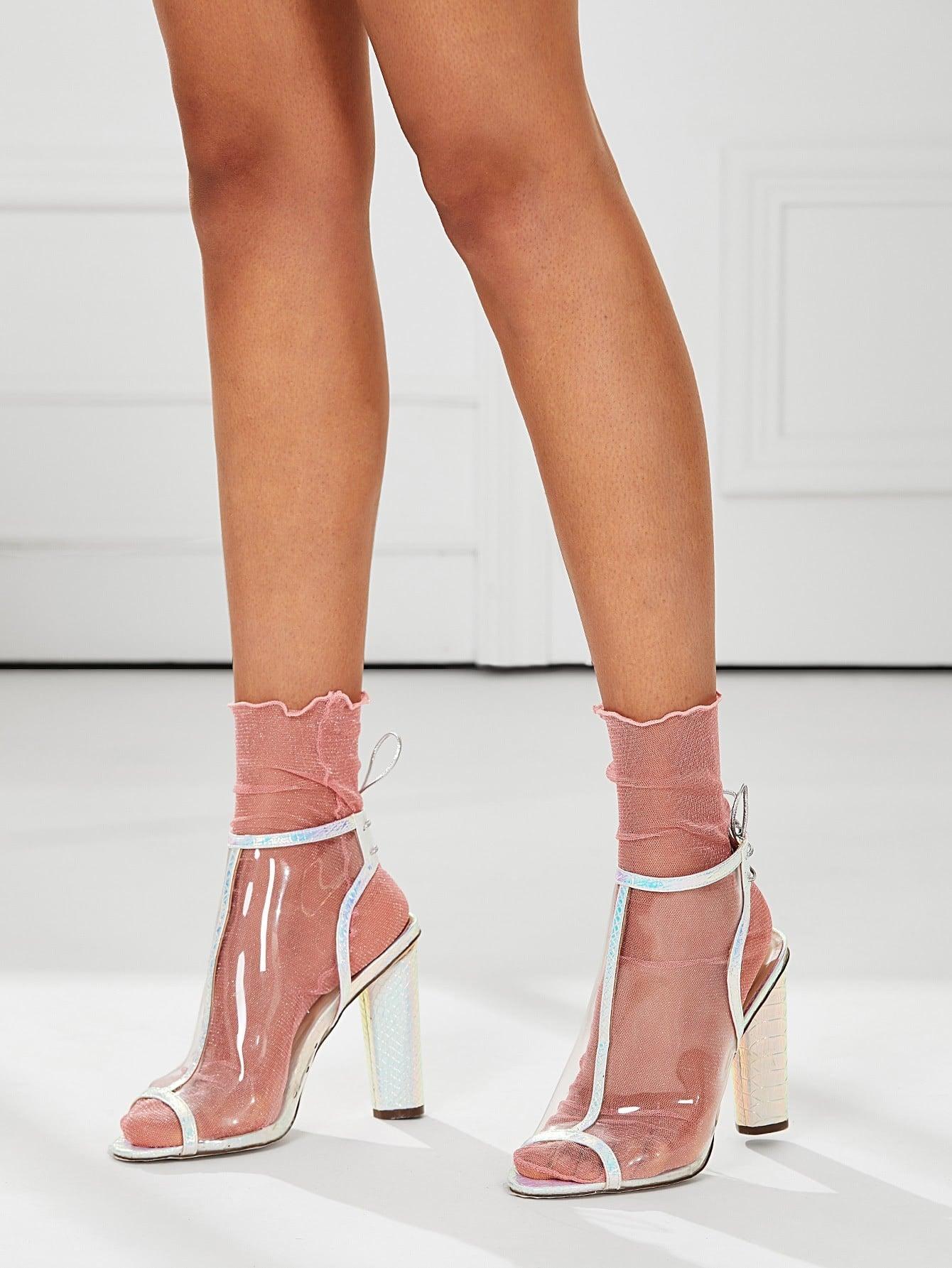 Mesh Ankle Socks