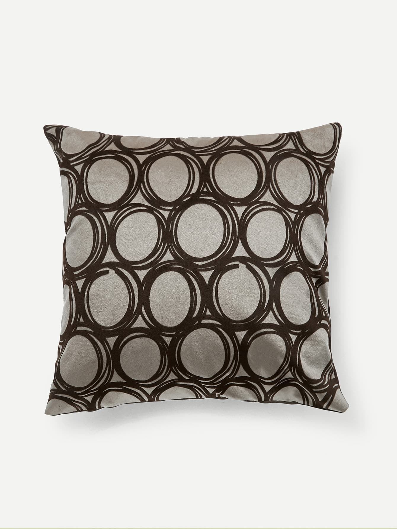Circle Print Pillow Case