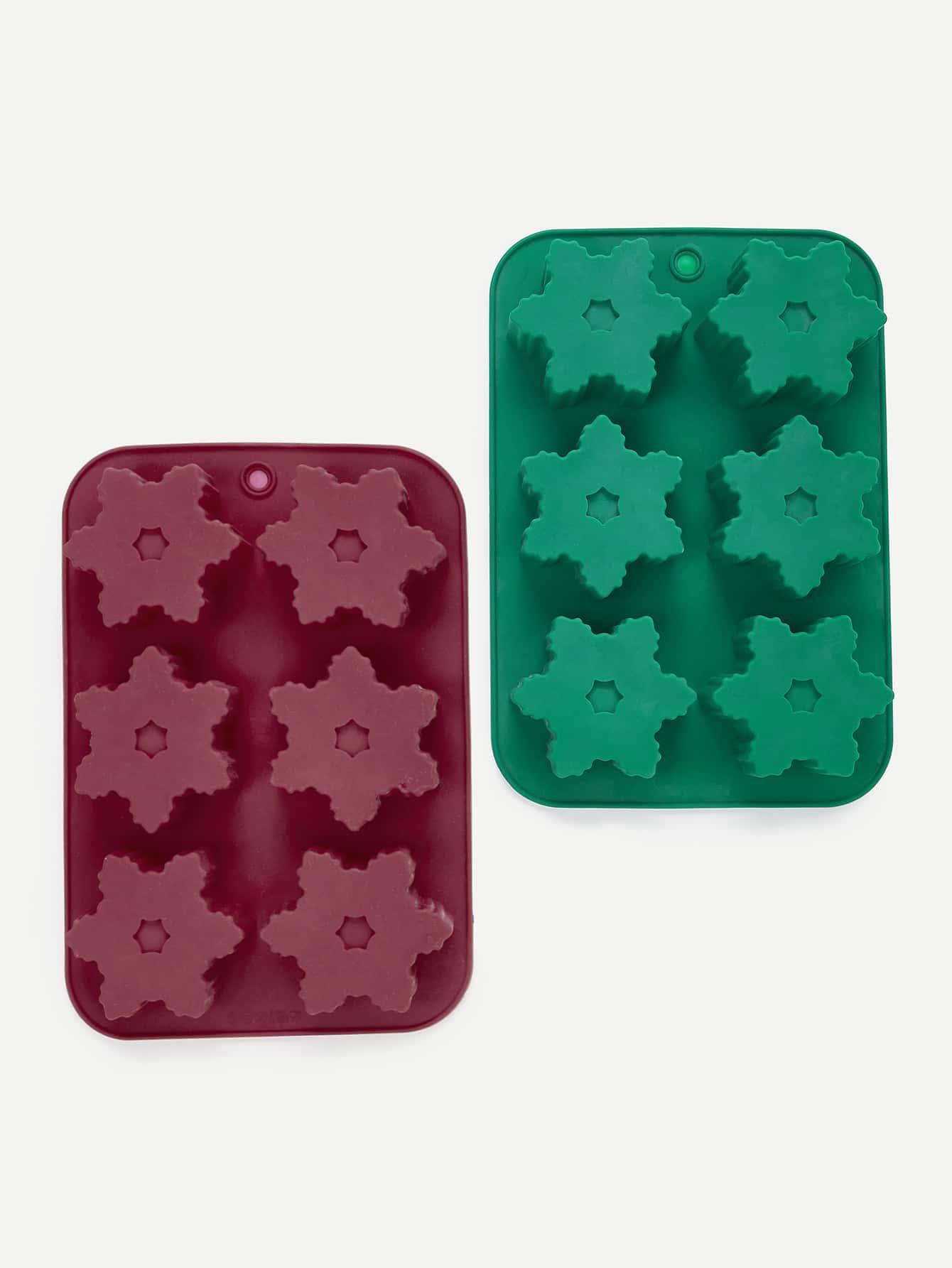Купить 1Pc Случайный цвет 6 Отверстие для формы формы для выпечки, null, SheIn