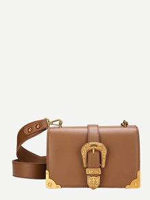 Western Buckle Crossbody Bag
