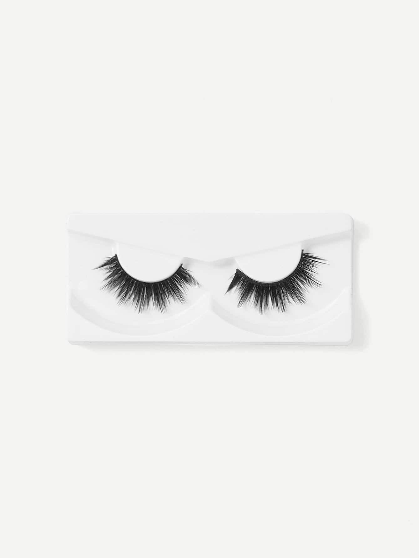 Volumizing Lengthening False Eyelash 1pair jiaocan 7011 eyelash super volumizing mascara combination