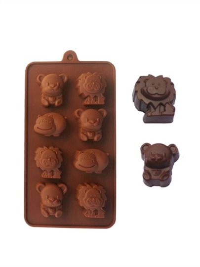 Animal Shaped Silicone Chocolate Baking Mould