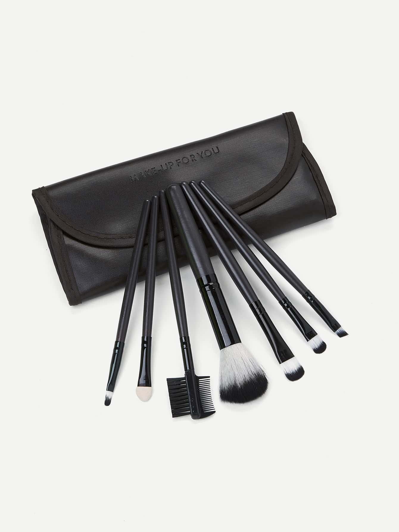 Makeup Brush Set 7pcs With Bag
