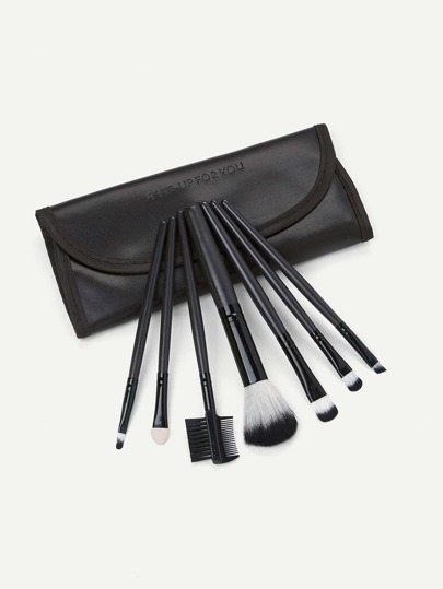 Makeup Brush Set 7pcs With Bag