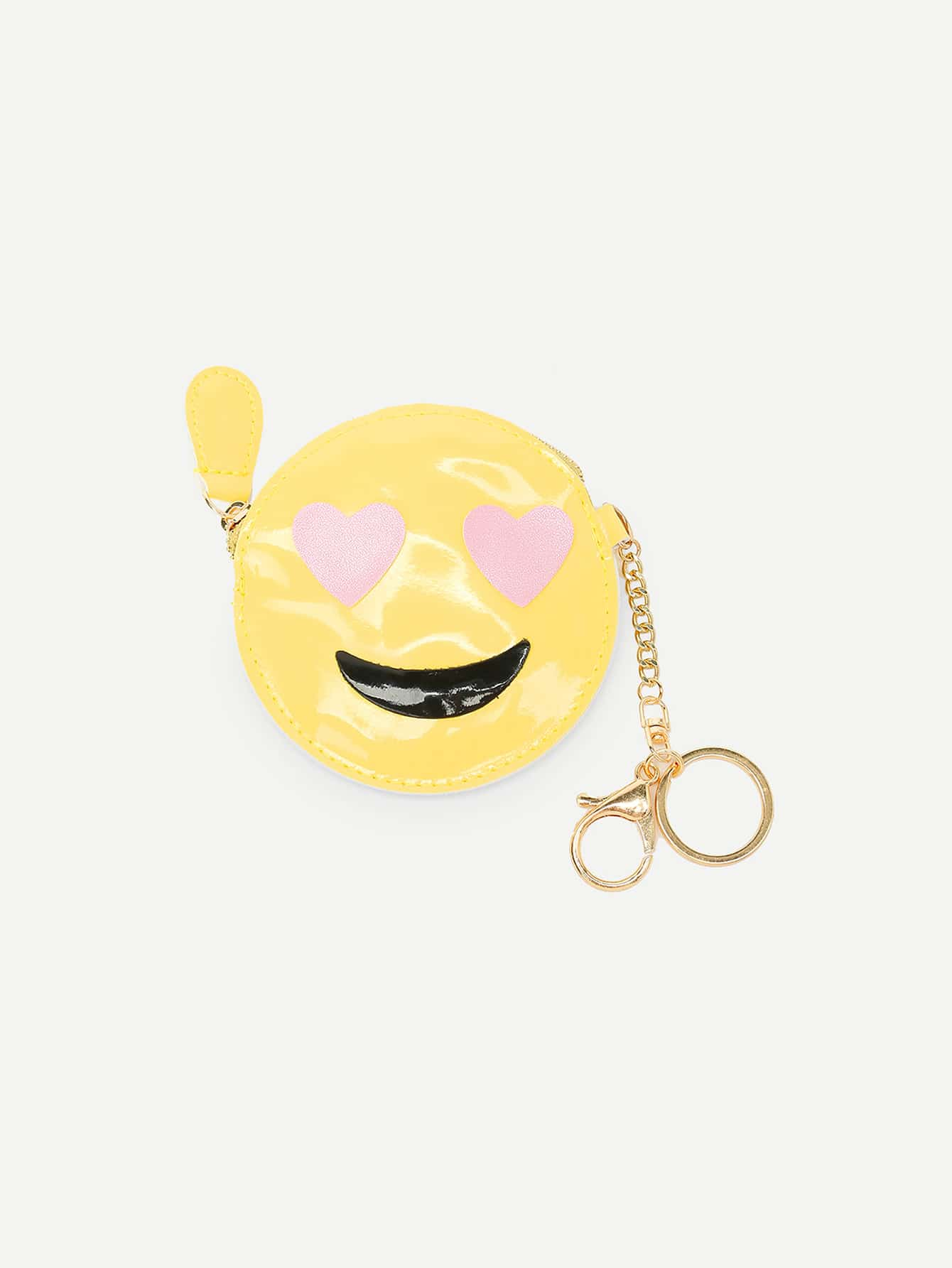 Two Tone Emoji Bag Accessory drop crotch loose two tone pants