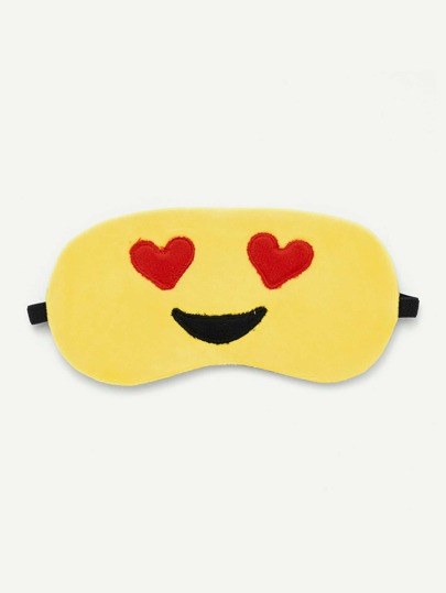 Emoji Pattern Eye Mask