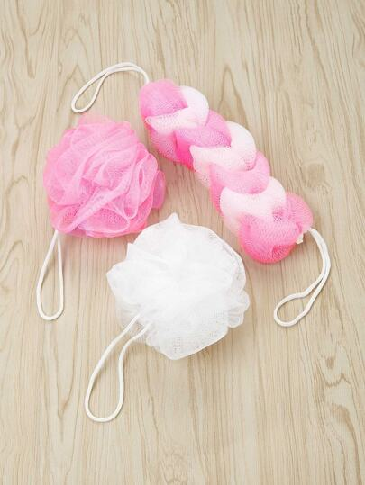 Net Bath Tool 3pcs