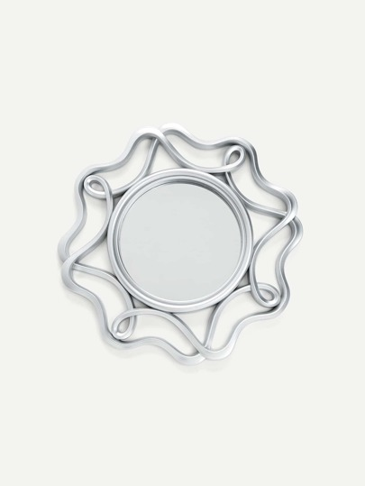 Cutout Swirl Wall Mirror