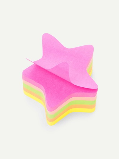 Star Shaped Sticky Notes