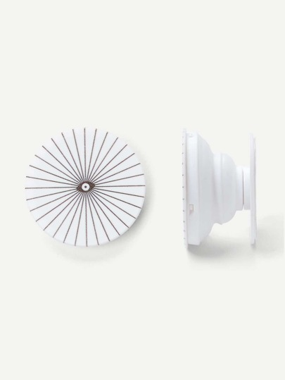Eye Pattern Round Durable Phone Holder