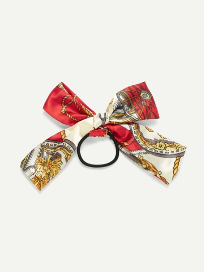 Ribbon Bow Hair Tie