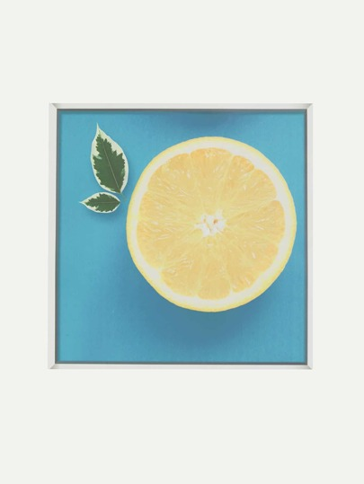 Lemon Print Wall Decal