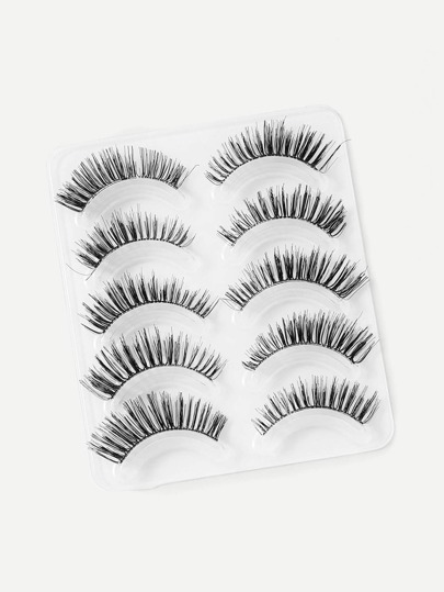 Natural False Eyelashes 5pairs