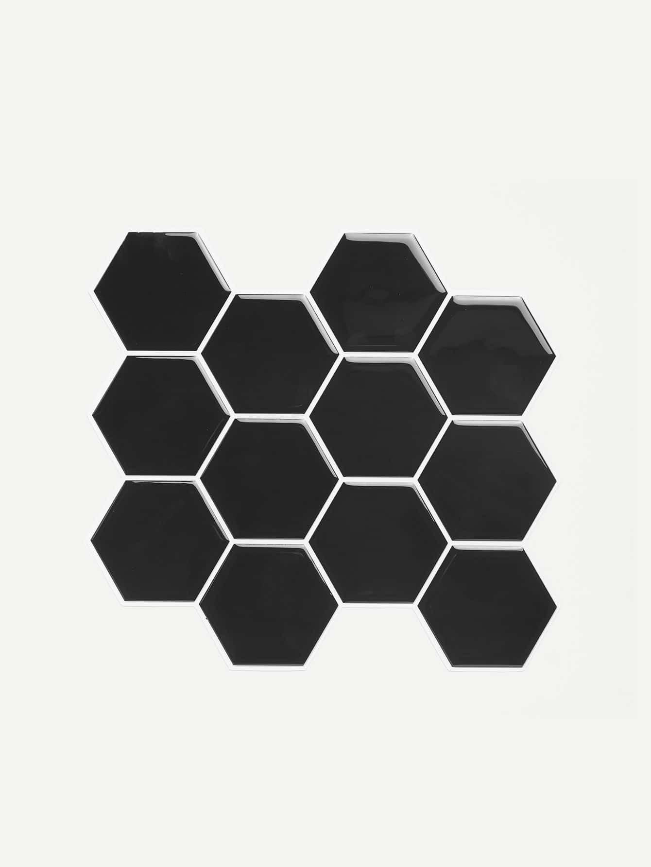 Hexagon Pattern Wall Tiles atlantic 26355 45 31