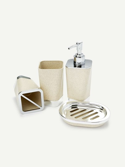 4pcs Bath Accessories Set