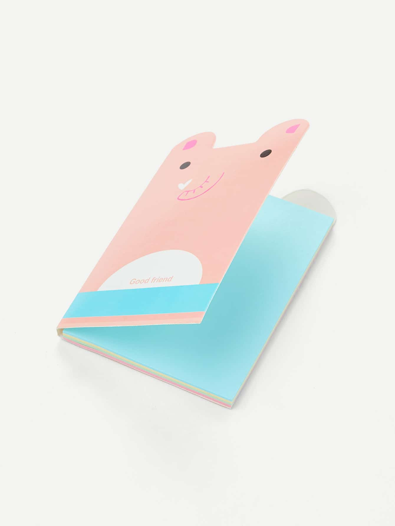 Cartoon Bear Shaped Memo Pad bear shaped toothbrush container