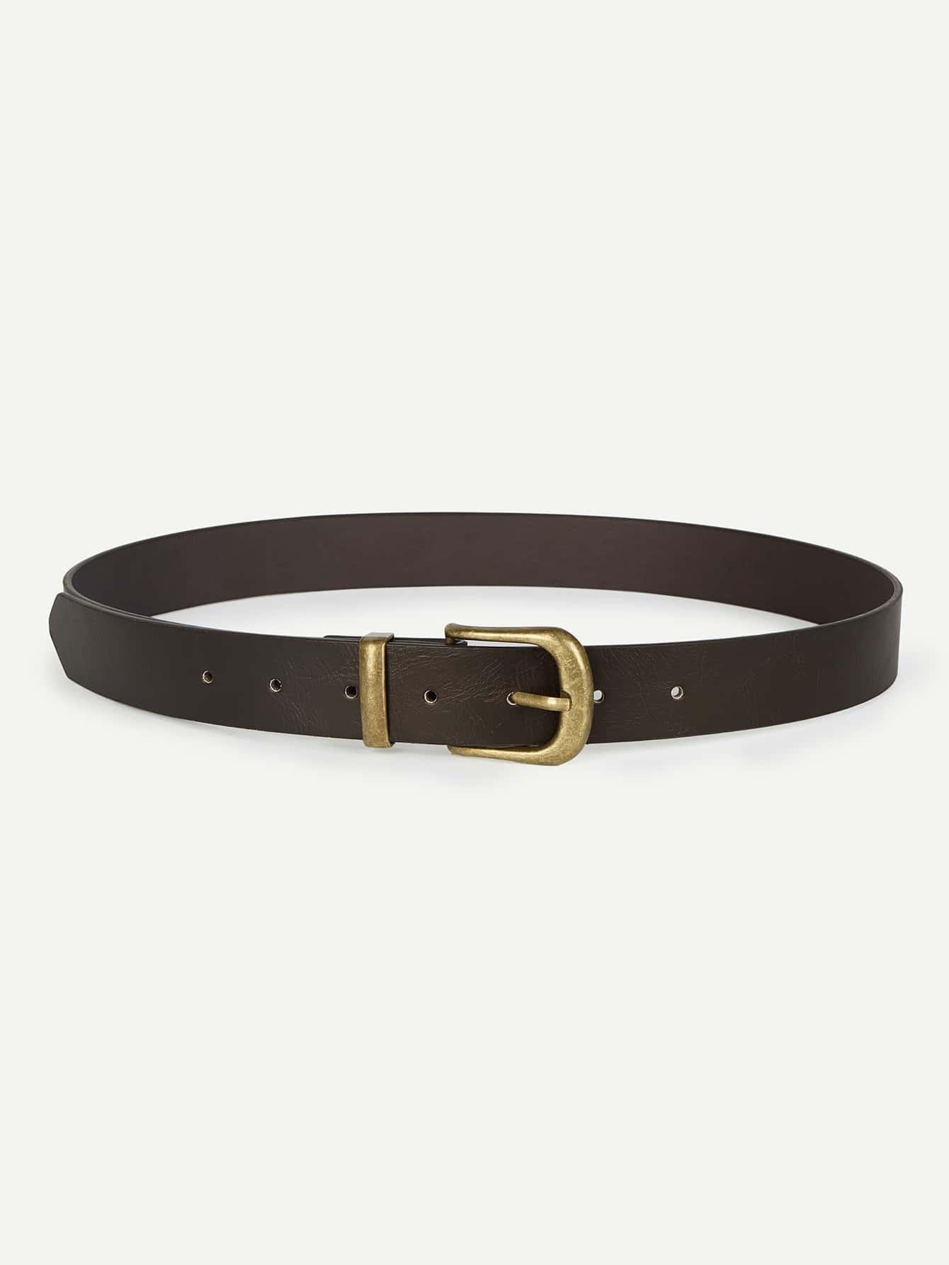 Metal Buckle PU Belt belt cp v2 metal