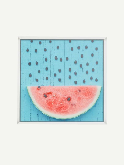 Watermelon Print Wall Decal