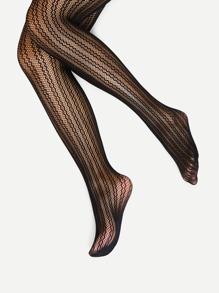 Hollow Design Pantyhose Stockings