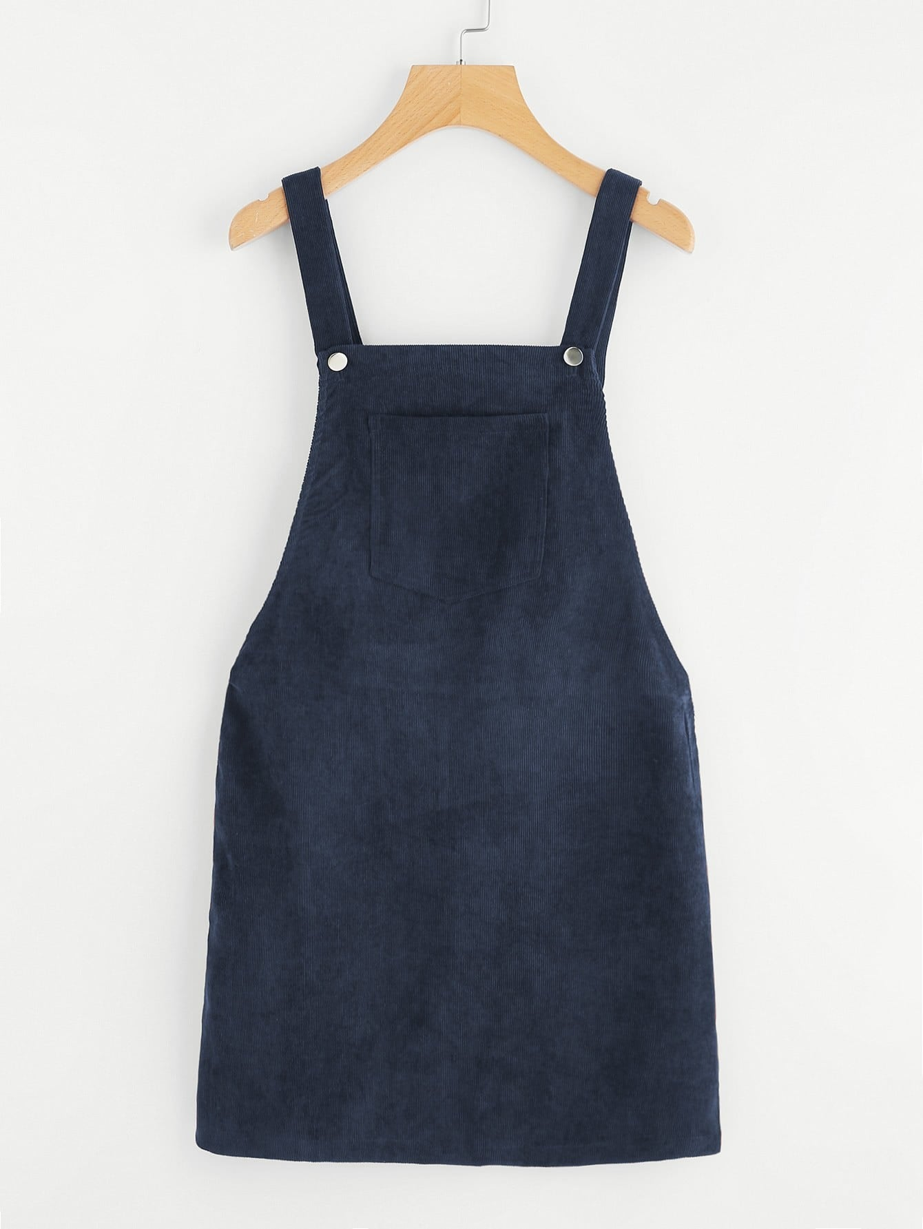 Bib Pocket Front Overall Dress overall yumi overall
