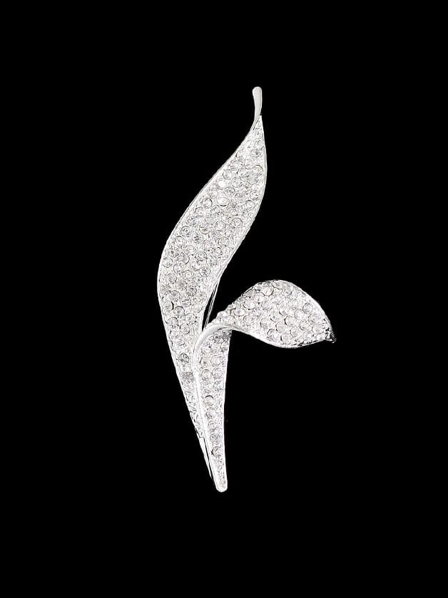 Full Rhinestone Flower Brooch flower shape rhinestone brooch