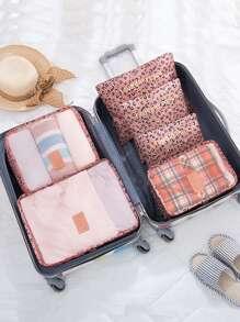 6 Pcs Travel Bags Set Simple Storage Bag