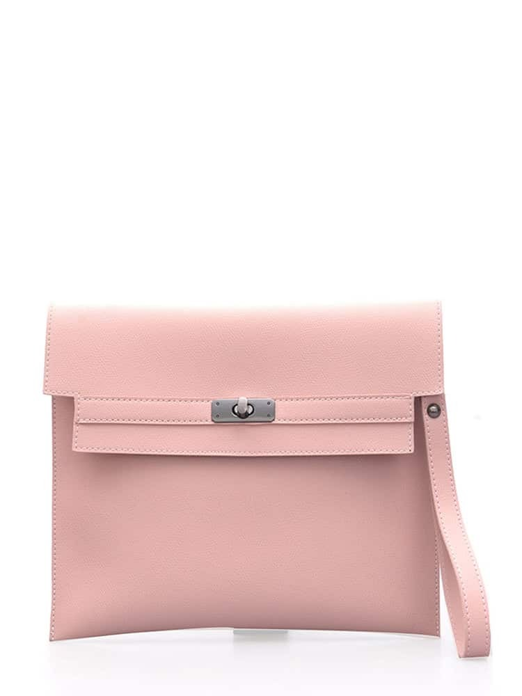 Flap Clutch Bag With Wristlet все цены