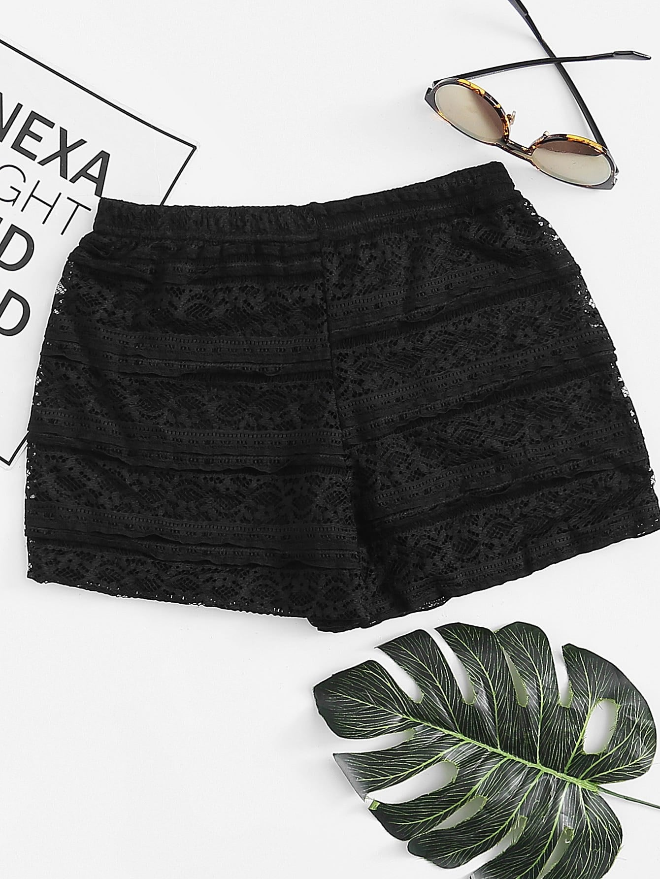 Lace Boy Shorts