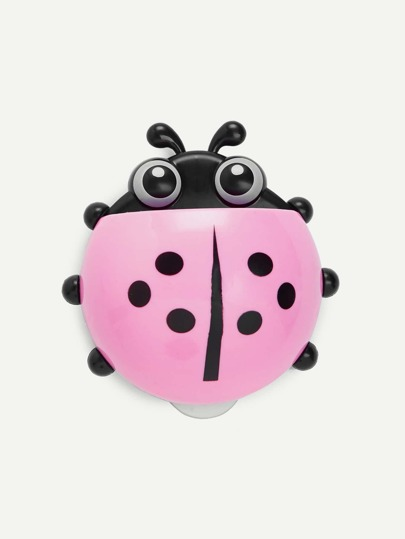 Ladybug Design Toothbrush Holder