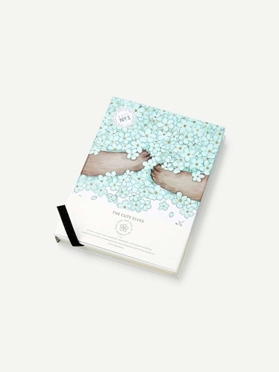 Flower Print Cover Notebook
