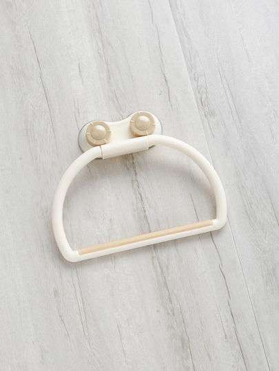 Wall Attachable Hanger For Shower Towel
