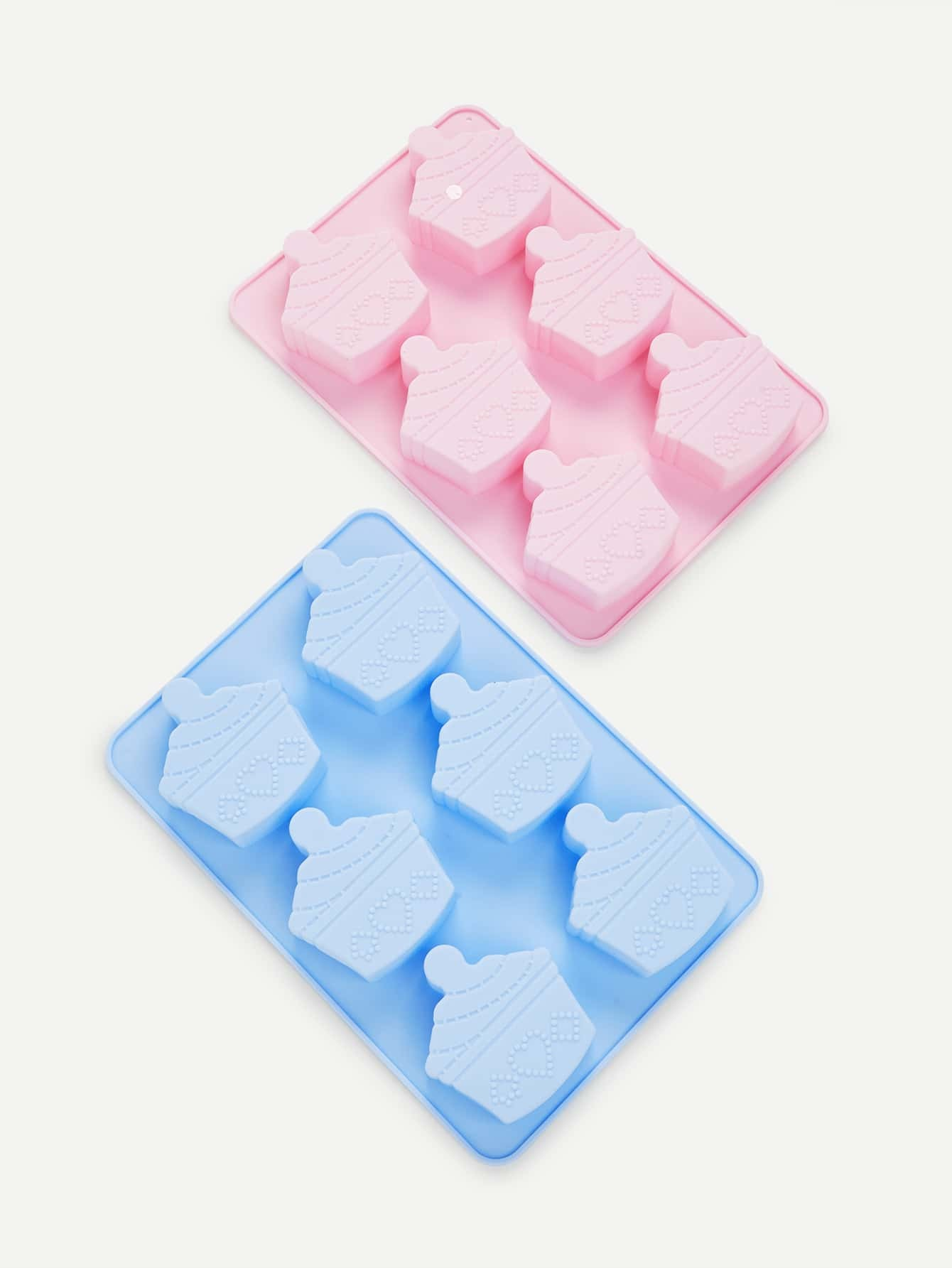 1Pc Random Color 6 Hole Cake Baking Mould