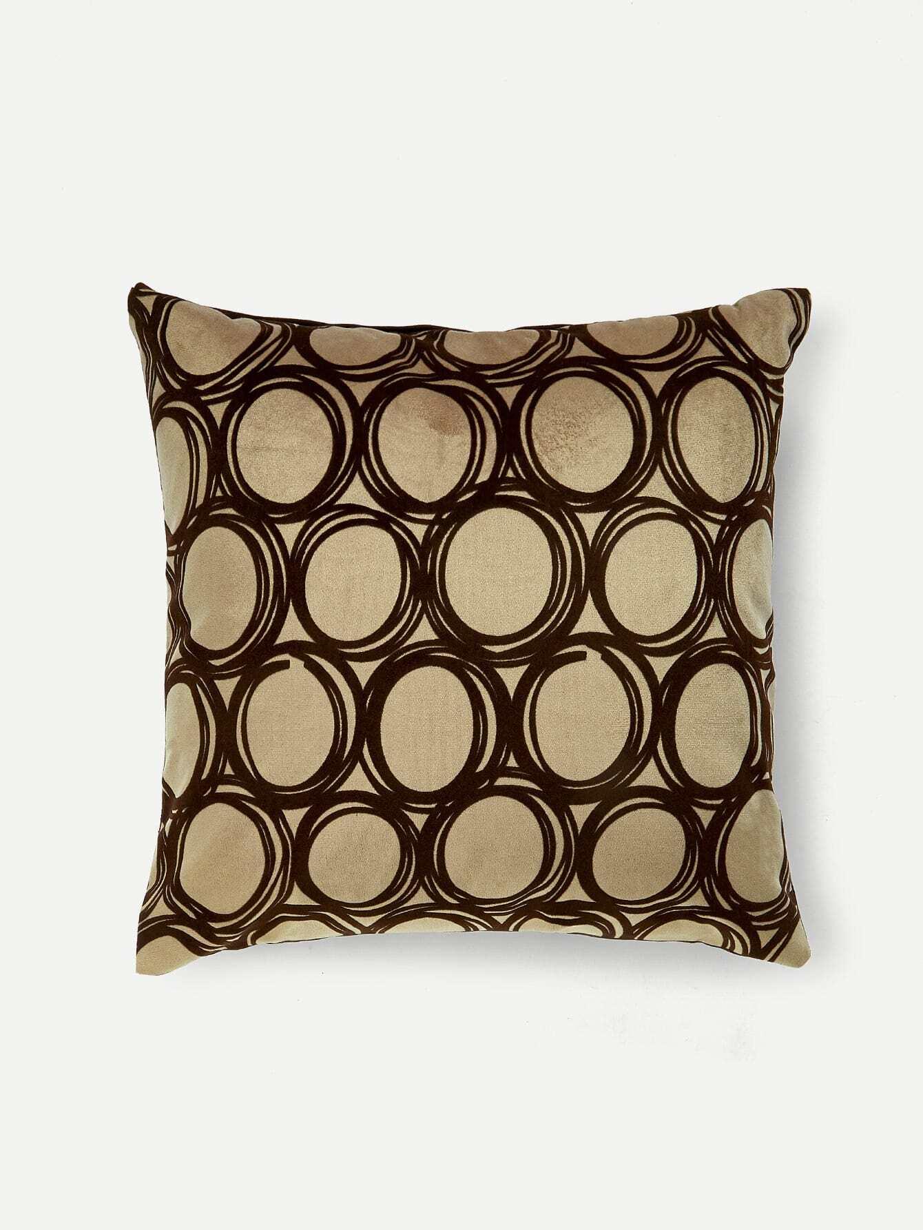 Geometric Print Pillow Case