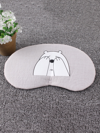 Cartoon Print Office Sleeping Eye Mask 1Pc