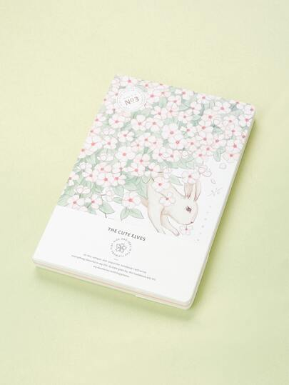 Florals Cover Notebook