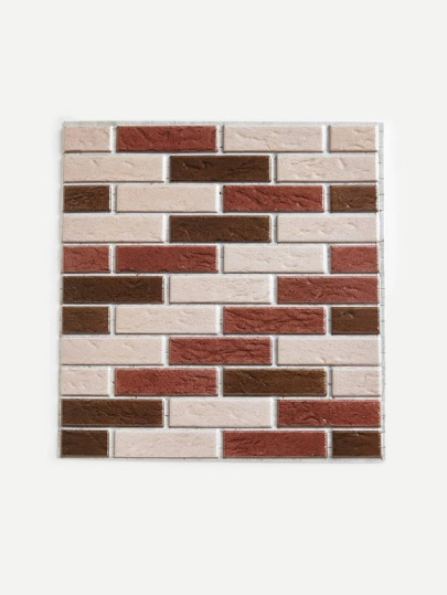Rectangle Fuax Brick Wall Sticker