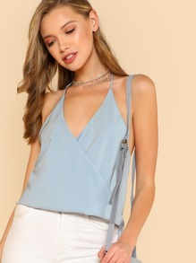 Strappy Back Halter Top