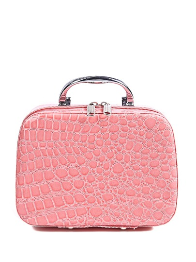 Crocodile Pattern Makeup Bag