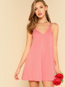 Double Strap Flowy Dress